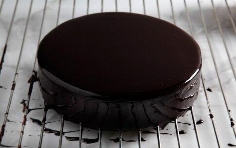 Preparazione Cremoso al cioccolato con mousse al lampone - Fase 10