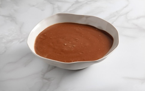 Preparazione Cremoso al cioccolato con mousse al lampone - Fase 3