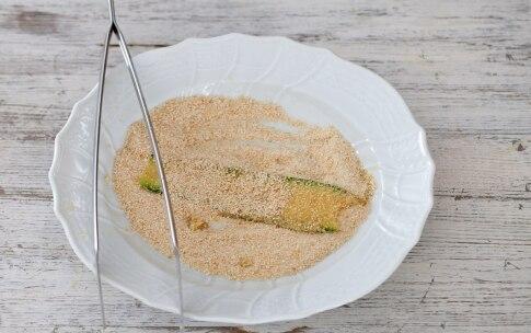 Preparazione Involtini di zucchine con pancetta e fontina - Fase 2