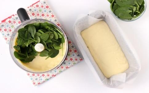 Preparazione Plumcake salato agli spinaci e parmigiano - Fase 1
