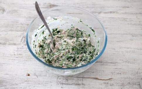 Preparazione Sfogliatine al prosciutto cotto e spinaci - Fase 2