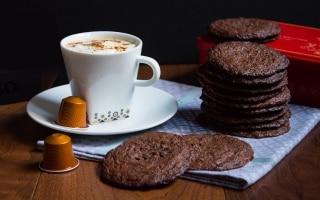 Cookies al caffè e cioccolato