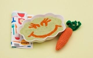 Crema di zucchine con carota e...