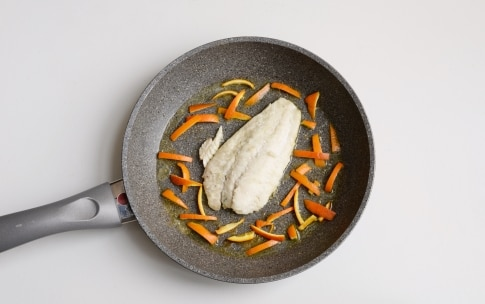 Preparazione Rombo all'arancia - Fase 3