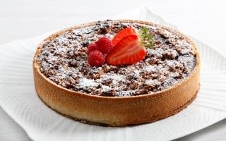 Torta amaretti, ricotta e cioccolato