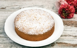 Torta frangipane arancia e amaretti