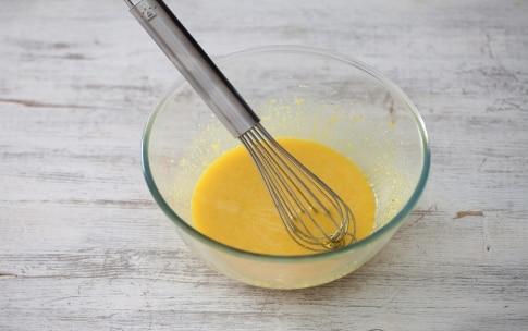 Preparazione Carbonara di piselli e pistacchi - Fase 2