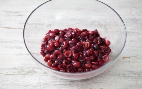 Preparazione Cherry pie - Fase 1