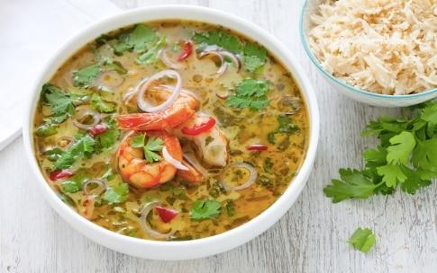Preparazione Curry verde thai di gamberi - Fase 5