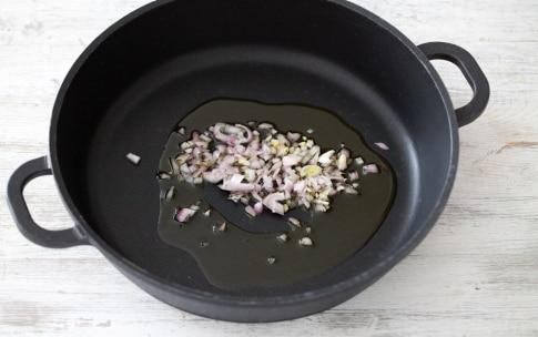 Preparazione Filetti di triglie in salsa allo zafferano con caponata di verdure - Fase 2