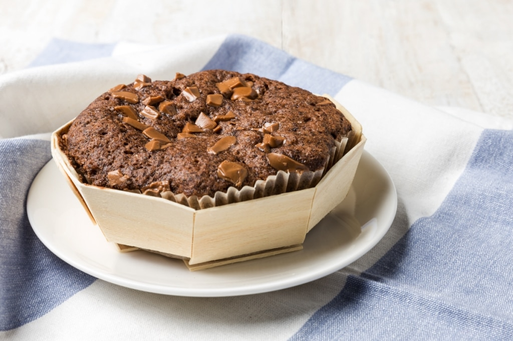 Cake senza glutine con grano saraceno e gianduia