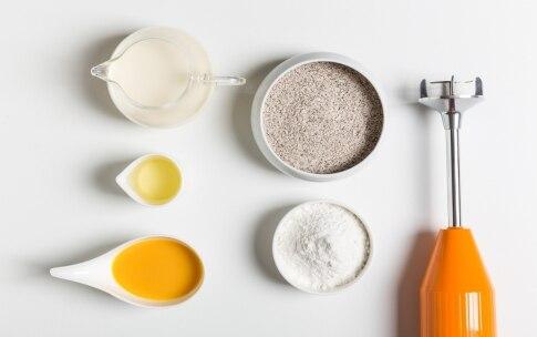 Preparazione Crepes di grano saraceno senza glutine - Fase 1
