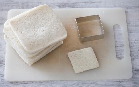 Preparazione Mozzarelle in carrozza con melanzane alla menta  - Fase 1
