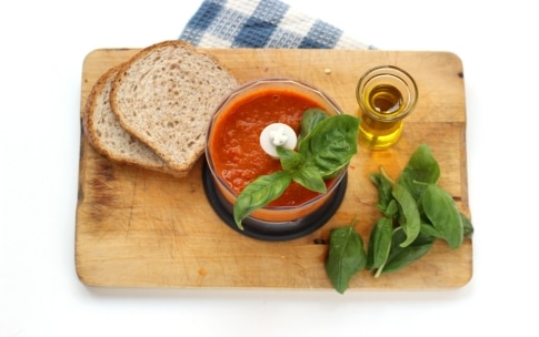 Preparazione Paté di peperoni e basilico - Fase 2