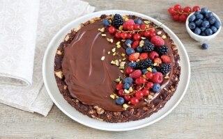 Torta al cioccolato senza cottura