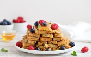 Barrette di French toast al forno