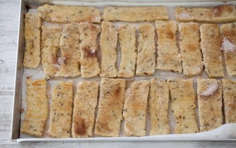 Preparazione Barrette di French toast al forno - Fase 3