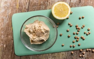 Hummus ricetta base