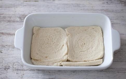 Preparazione Lasagna di pancarré al pomodoro, mozzarella e basilico - Fase 2