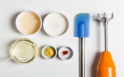 Preparazione Maionese senza uova - Fase 1