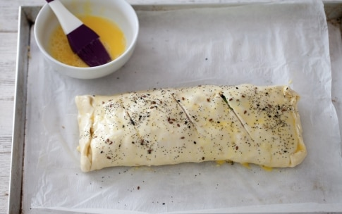 Preparazione Rotolo alle zucchine e prosciutto cotto - Fase 3