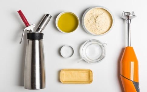 Preparazione Sandwich di ceci senza glutine - Fase 1