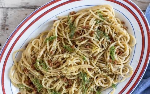 Preparazione Spaghetti con colatura di alici - Fase 3