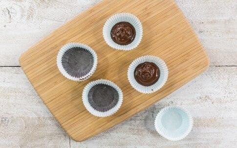 Preparazione Cestini di cioccolato e lamponi - Fase 2