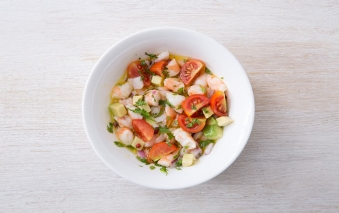 Preparazione Cestini di taco con gamberi marinati - Fase 3
