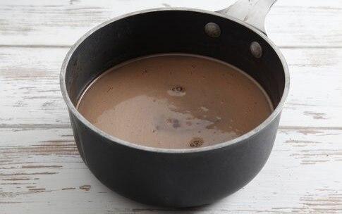 Preparazione Gelato al cioccolato - Fase 1