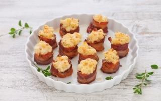 Paccheri di bacon
