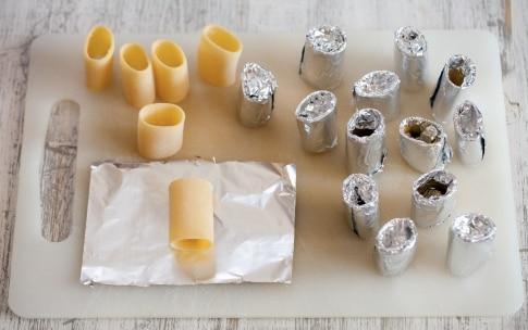 Preparazione Paccheri di bacon - Fase 1