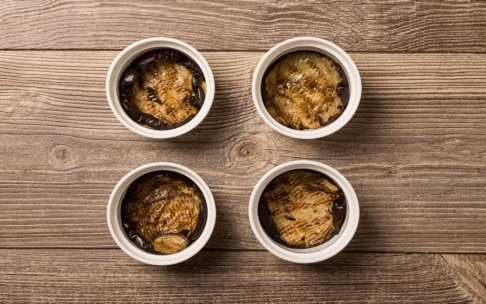 Preparazione Tortini di pasta, provola e melanzane - Fase 3