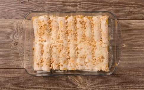 Preparazione Cannelloni con crema di zucca e ricotta - Fase 4