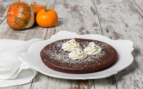 Preparazione Caprese al cioccolato di Halloween - Fase 4