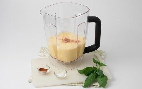 Preparazione Crema di mais e basilico fresco - Fase 2
