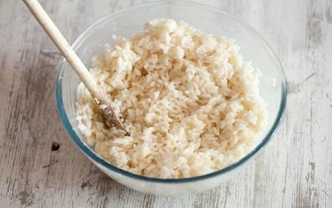Preparazione Crocchette filanti di riso con formaggio e pancetta affumicata - Fase 1