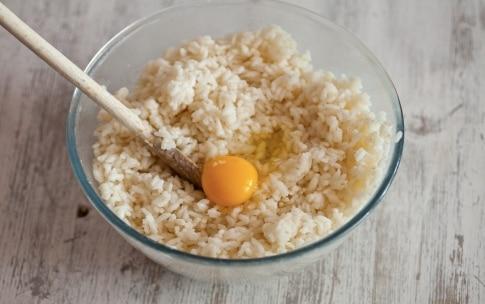 Preparazione Crocchette filanti di riso con formaggio e pancetta affumicata - Fase 2