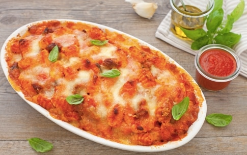 Preparazione Gnocchi con mozzarella filante al forno - Fase 4