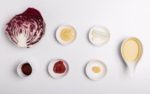 Preparazione Lasagne senza glutine al radicchio rosso - Fase 1