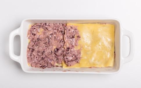 Preparazione Lasagne senza glutine al radicchio rosso - Fase 3