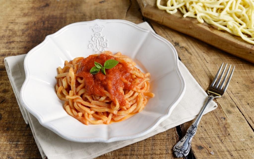 Il tipico primo piatto dell'Irpinia, la maccaronara: ingredienti e preparazione