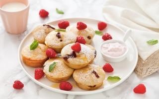 Bocconcini di pancake ripieni