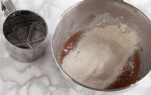 Preparazione Brownies alla Nutella - Fase 2