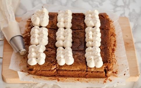 Preparazione Brownies senza lattosio al caffè - Fase 5