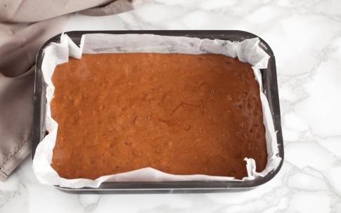 Preparazione Brownies cheesecake al caffè  - Fase 3