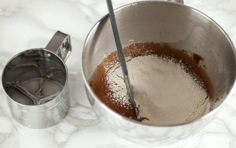 Preparazione Brownies cheesecake al caffè  - Fase 2