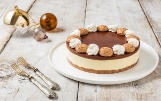 Cheesecake senza cottura con amaretti e...