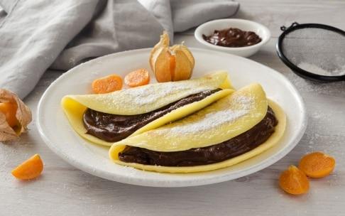 Preparazione Crêpes alla crema di cioccolato  - Fase 5