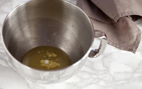 Preparazione Crostata con pere, mirtilli rossi e crema alle mandorle  - Fase 1